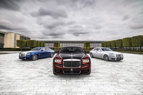 Rolls-Royce Celebrates 10-Years of Current Ghost with 50-Unit Zenith Collector's Edition