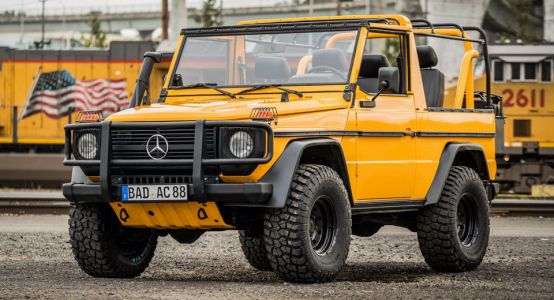"""Forget The AMGs - This """"Wolf"""" G-Class Is What Merc's 4x4 Is Really About"""