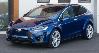 FAB Design Launches VIRIUM Widebody Kit For Tesla Model X
