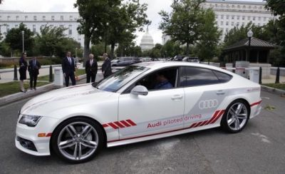 Getting to Know Jack, the Autonomous Audi That's Lobbying Congress for Action