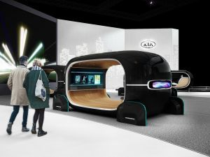 Kia Showcases Futuristic AI Car Interiors At CES 2019