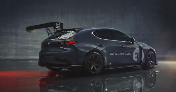 Say Hello To The Mazda 3 TCR And All Its Wings