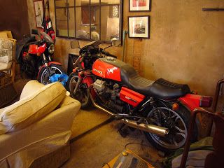 Moto Guzzi Le Man, Morini and Fiat 500