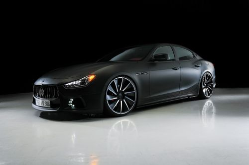 Wald International Modifies Maserati Ghibli Black Bison