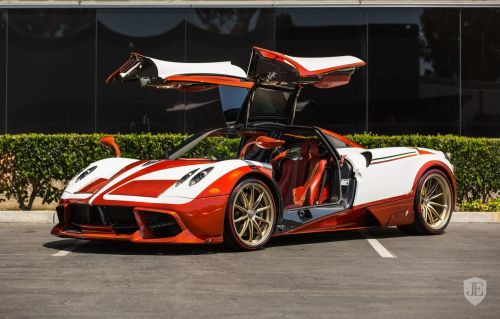 Lapo Elkann's Bespoke Pagani Huayra Up For Grabs With Just 8km On The Clock