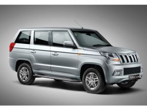 Upcoming BS6-Compliant Mahindra TUV300 Plus Spied