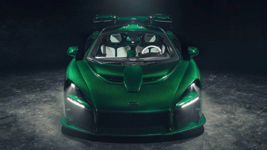 This Green Carbon Fibre Exterior Option On The McLaren Senna Cost Over R7 Million