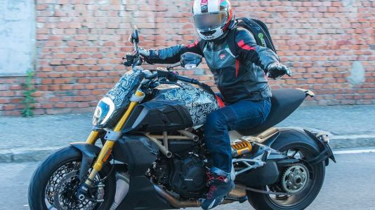 This Is The New Ducati Diavel - Spy Shots