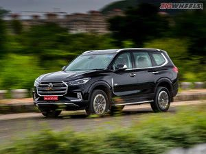 MG Gloster SUV Now Dearer By Up To Rs 80000