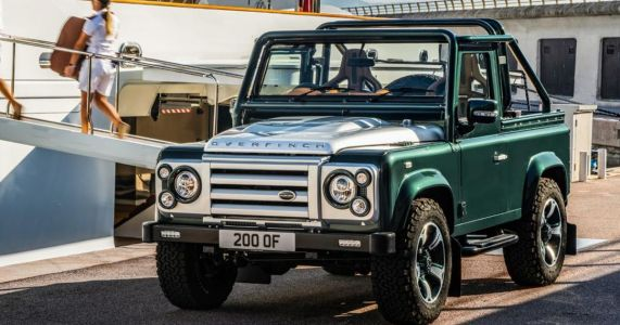 Old Dog Meets New Money In The 450bhp 'Defender Redefined By Overfinch'