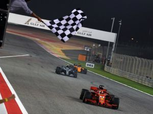 Sebastian Vettel Wins Eventful Bahrain Grand Prix