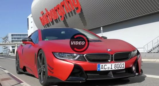 Join AC Schnitzer For A Hot Nurburgring Lap In A Custom BMW i8