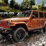 Turbo Four to Join V-6 Options under 2018 Jeep Wrangler's Hood