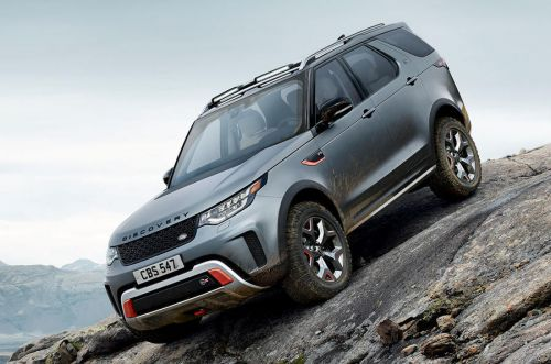 Land Rover Discovery SVX Scrapped