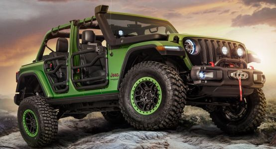 New Wranglers Show Off Mopar Jeep Performance Parts