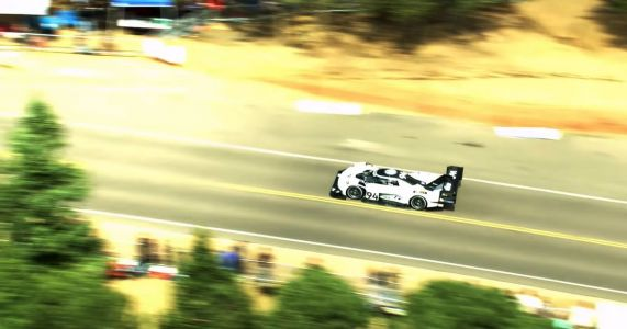 Here's The Insane Aerial Footage Of VW's Pikes Peak Record Run