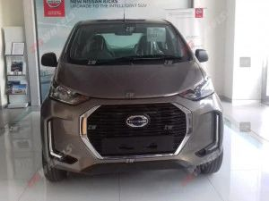 2020 Datsun redi-GO Facelift Reaches Dealerships Renault Kwid Maruti S-Presso Rival Looks Ready For Launch