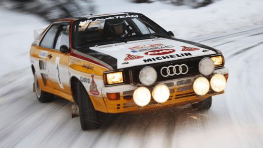 Top Gear Took a Trip with Walter Röhrl in a Quattro