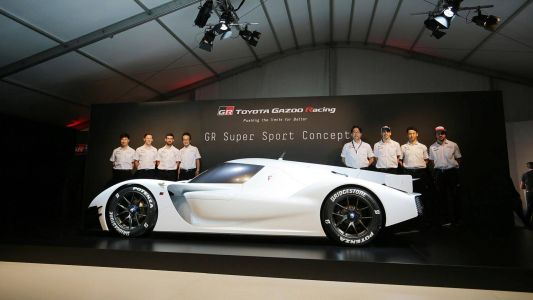 Toyota Will Turn This 986 HP GR Super Sport Concept Into A Production Hypercar