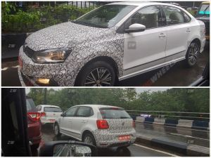 Volkswagen Polo Vento Facelift Spied Yet Again