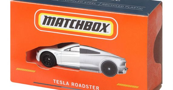 Matchbox Has Made A Toy Car From 99% Recycled Materials