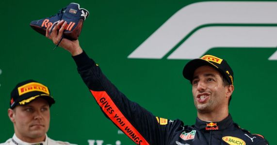 Daniel Ricciardo's Shoey Celebration Might Not Be The Healthiest Thing