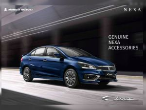 2018 Maruti Suzuki Ciaz Accessories Brochure Leaked Ahead Of Launch