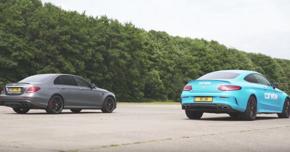 Watch The Mercedes-AMG E63 Wipe The Floor With A C63 Coupe