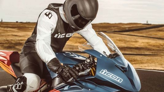 Icon Hypersport Race Suit And Airform Helmet First Look