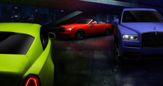 Rolls-Royce's 'Neon Nights' Are The Definition Of New Money