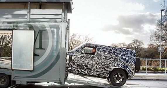 This Is Probably The New Land Rover Defender, And It's Arriving In 2019