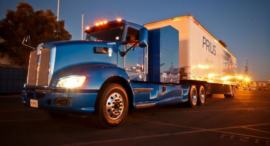 This Toyota Big-Rig Is Cleaner Than A Prius