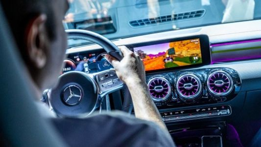 Play Mario Kart In The New Mercedes-Benz CLA