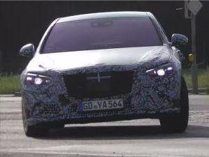 Upcoming 2020 Mercedes S-Class Spied Testing On Public Roads