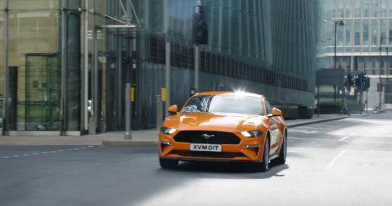 Ford Mustang Advert Banned For Apparently Encouraging Dangerous Driving