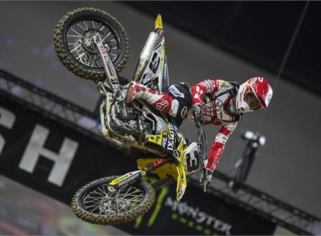 AUBIN JOINS POWER MAXED ARENACROSS TOUR WITH RFX SUZUKI