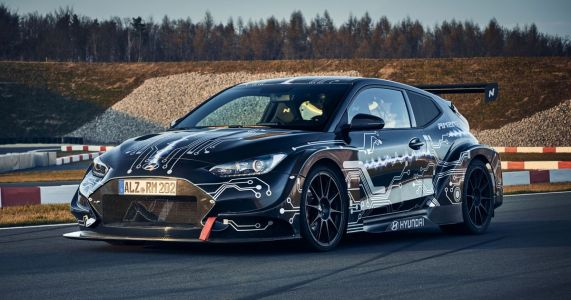The RM20e Is A RWD Hyundai With 800bhp