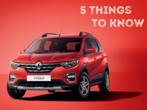 Renault Triber 7-seater MPV 5 Things To Know