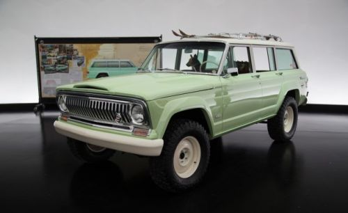 Jeep Wagoneer Roadtrip Concept Is an Ode to a Past Era