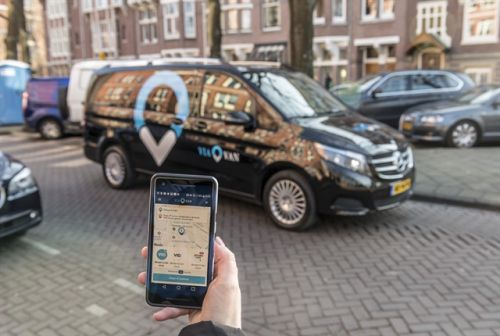 Mercedes-Benz Brings On-Demand Ridesharing Vans to London
