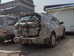 Upcoming Tata Gravitas SUV Spied Testing For Emissions In India