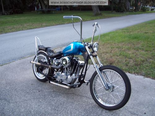 1978 IRONHEAD HARLEY SPORTSTER CHOPPER OLDSCHOOL 70S STYLE FOR SALE