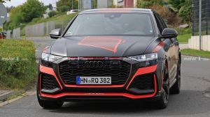 Audis RSQ8 Spied Almost Undisguised Ahead Of Official Debut