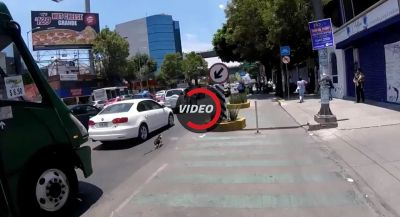 Cyclist Going After Yorkie In Mexico City Traffic Is The Best Chase Scene You'll See Today