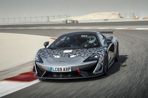 The McLaren 620R Is A 570S GT4 Race Car In Road Legal Clothes
