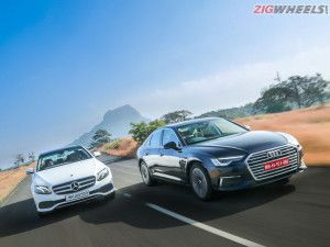 Audi A6 Vs Mercedes-Benz E-Class Comparison Review