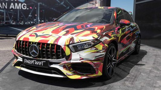 Mercedes-AMG A45 Concept Drift Gives Us Our Best Look Yet