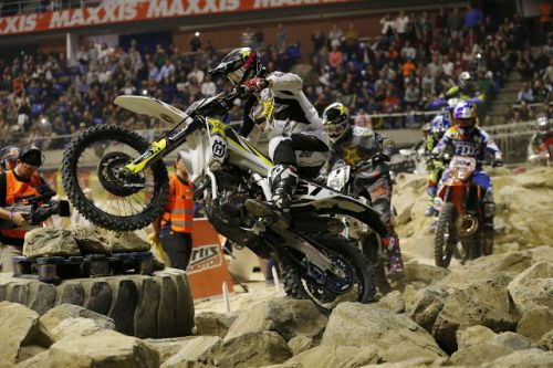 SUPERENDURO PODIUM FOR BILLY BOLT IN SPAIN