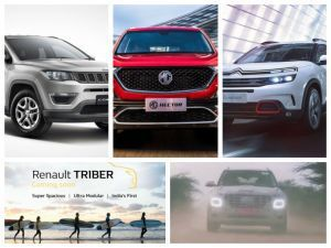 Top 5 Car Stories Of The Week Citroen C5 Aircross And Renault Triber Shown Launch Dates Of Hyundai Venue And MG Hector Announced And Affordable Jeep Compass