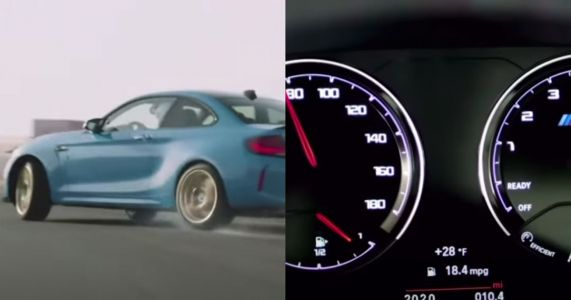 BMW Used Lamborghini V10 Engine Noise For An M2 Marketing Video